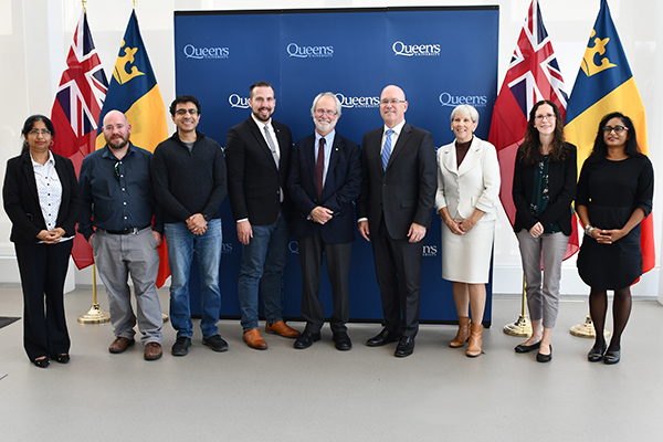 ORF funding announcement group shot