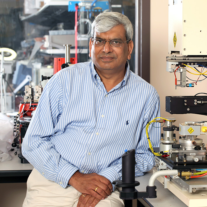 [Photo of Praveen Jain in the ePower centre]