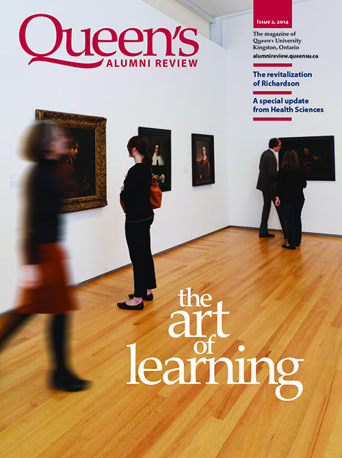 [photo of new Alumni Review cover]