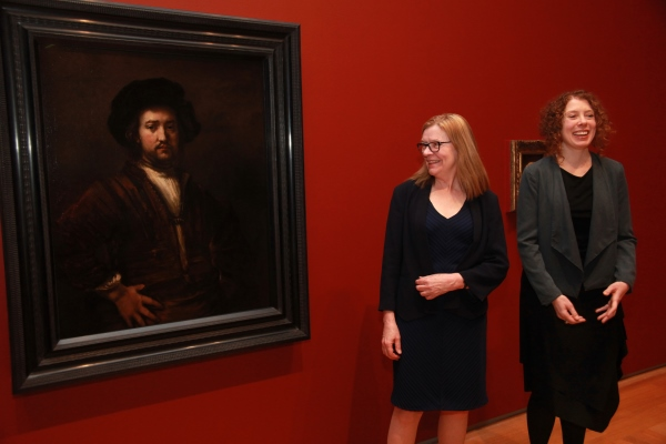 [Jan Allen and Jacquelyn Coutre introduce the new Rembrandt]
