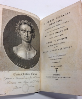 [Photo of book used during first day of classes at Queen's]
