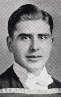 [Alfred Bader yearbook photo]