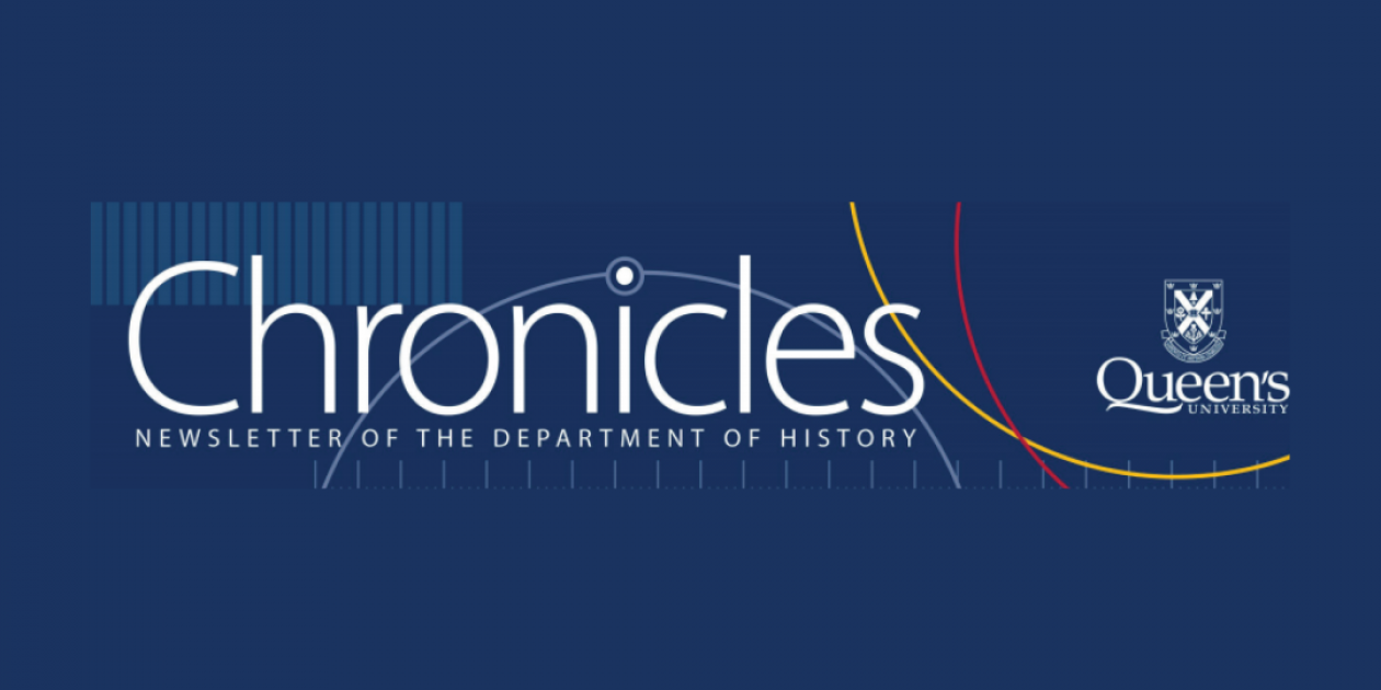 Image of the Chronicles logo for the Department of History Newsletter
