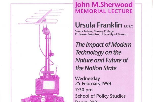 The Impact of Modern Technology on the Nature and Future of the Nation State