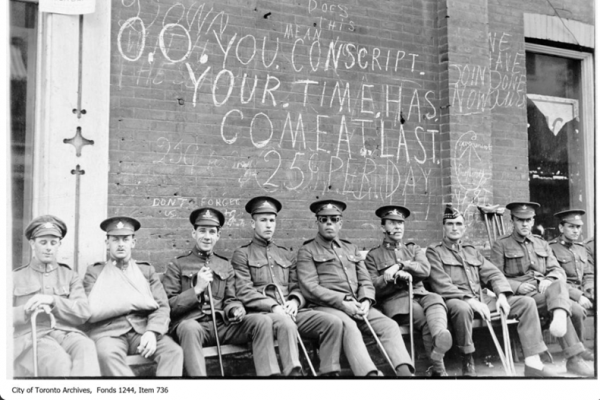Navigating the 'Red Tape': Finding Veterans' Voices in Canada's First World War Pension Files