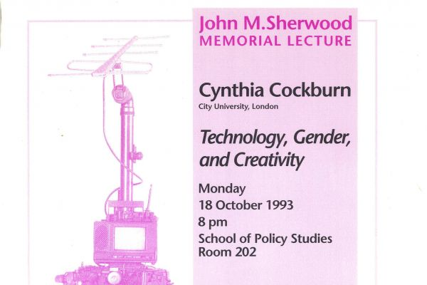 Technology, Gender and Creativity