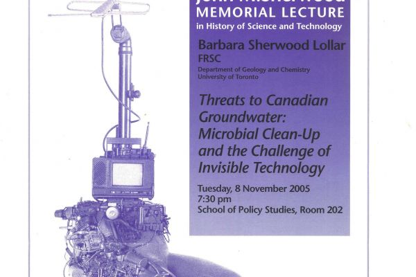 Threats to Canadian Groundwater: Microbial Clean-Up and the Challenge of Invisible Technology
