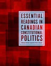 Essential Readings in Canadian Constitutional Politics book cover [JPG]