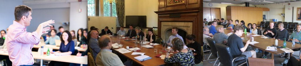 Colloquium in Legal and Political Philosophy; Queen's-Oxford workshop; Political Philosophy Reading Group
