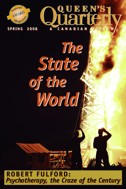 Spring 2008 - The State of the World