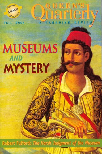 Fall 2008 -Museums and Mystery