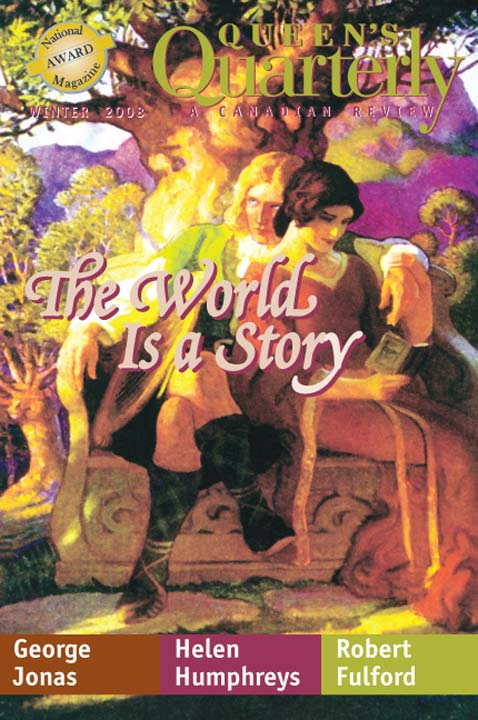 Winter 2008 - The World is a Story