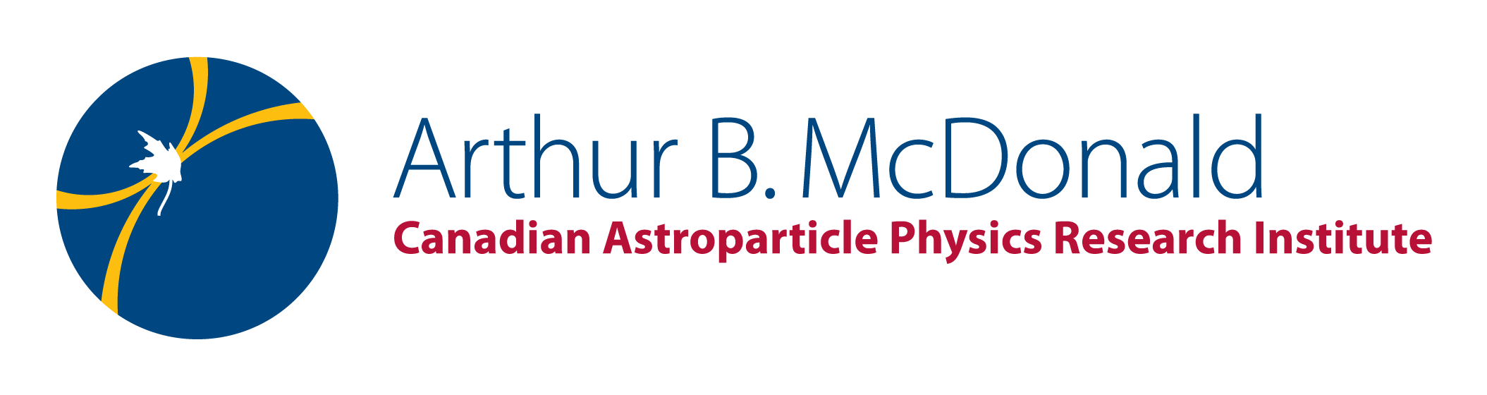 [Arthur B. McDonald Canadian Astroparticle Physics Institute - logo]