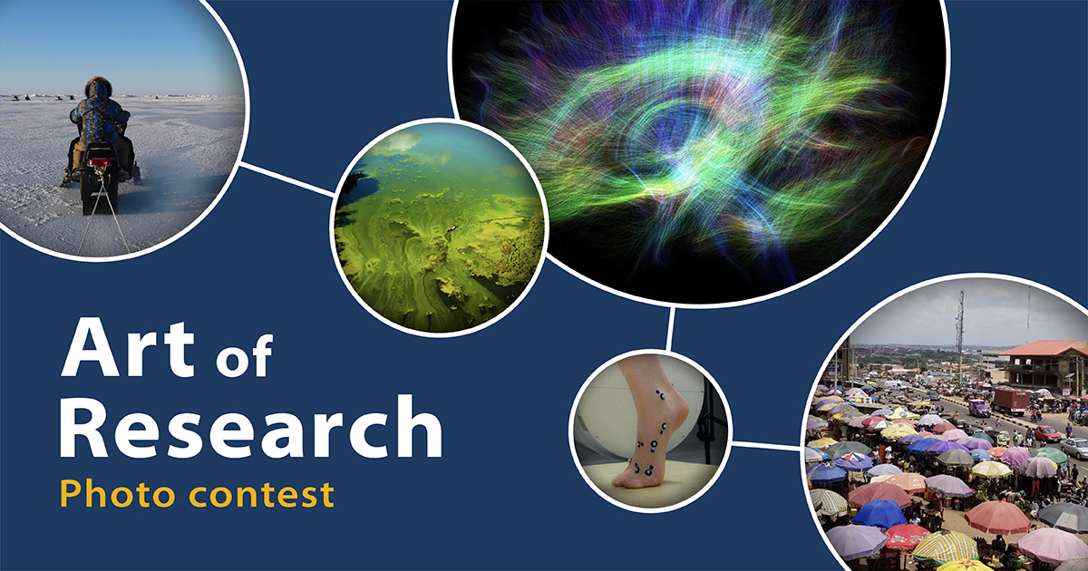 [Art of Research photo contest graphic]