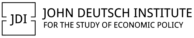 [John Deutsch Institute for the Study of Economic Policy - wordmark]