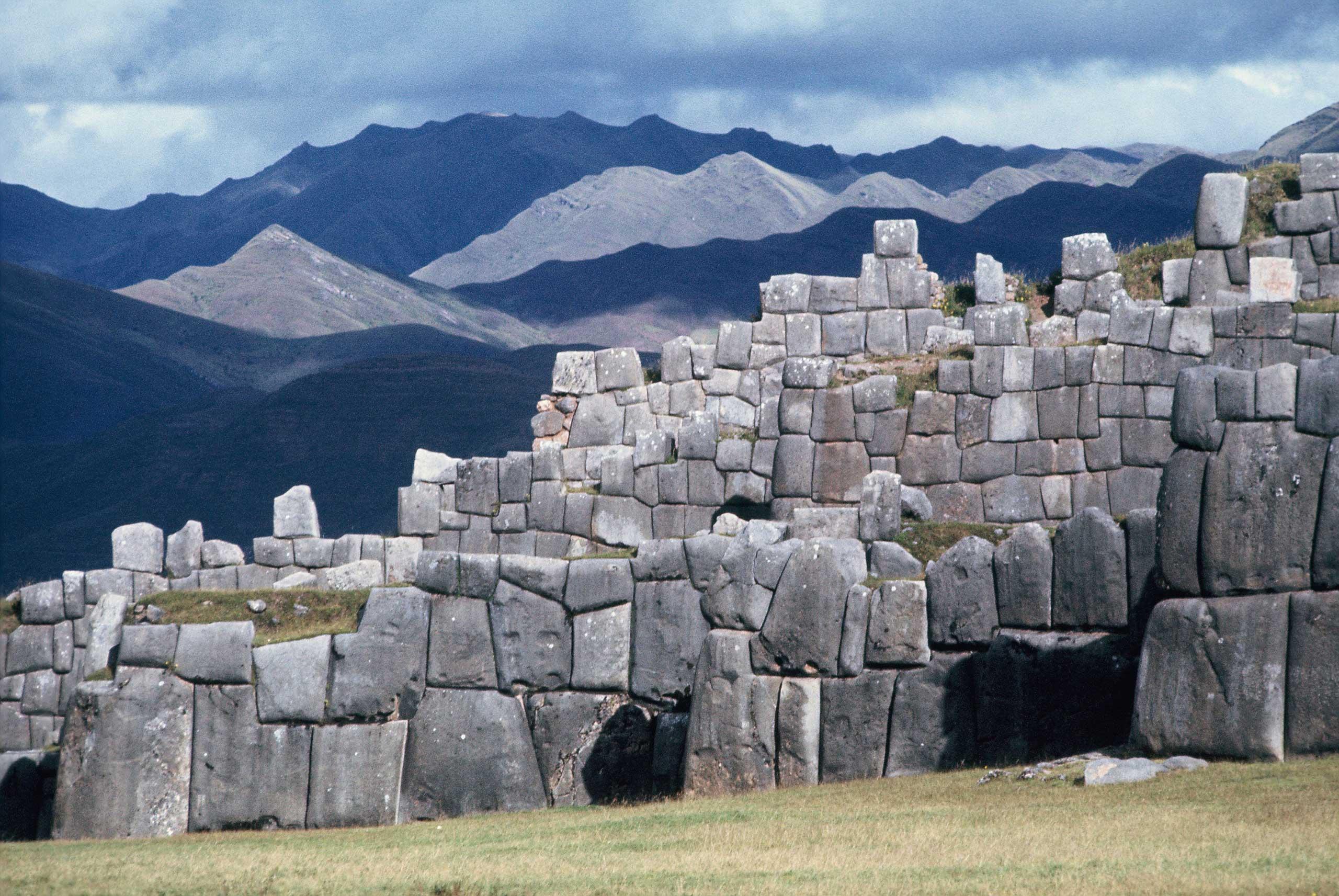 The Inca fortress of Saqsaywaman