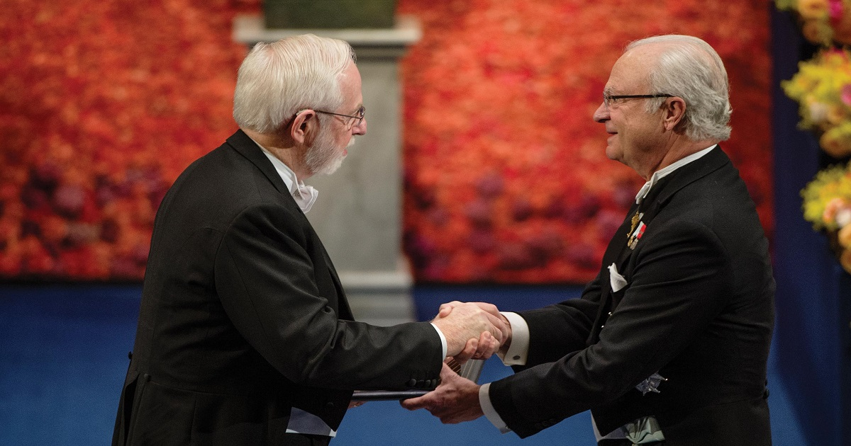 Arthur B. McDonald receives the Nobel Prize in Physics