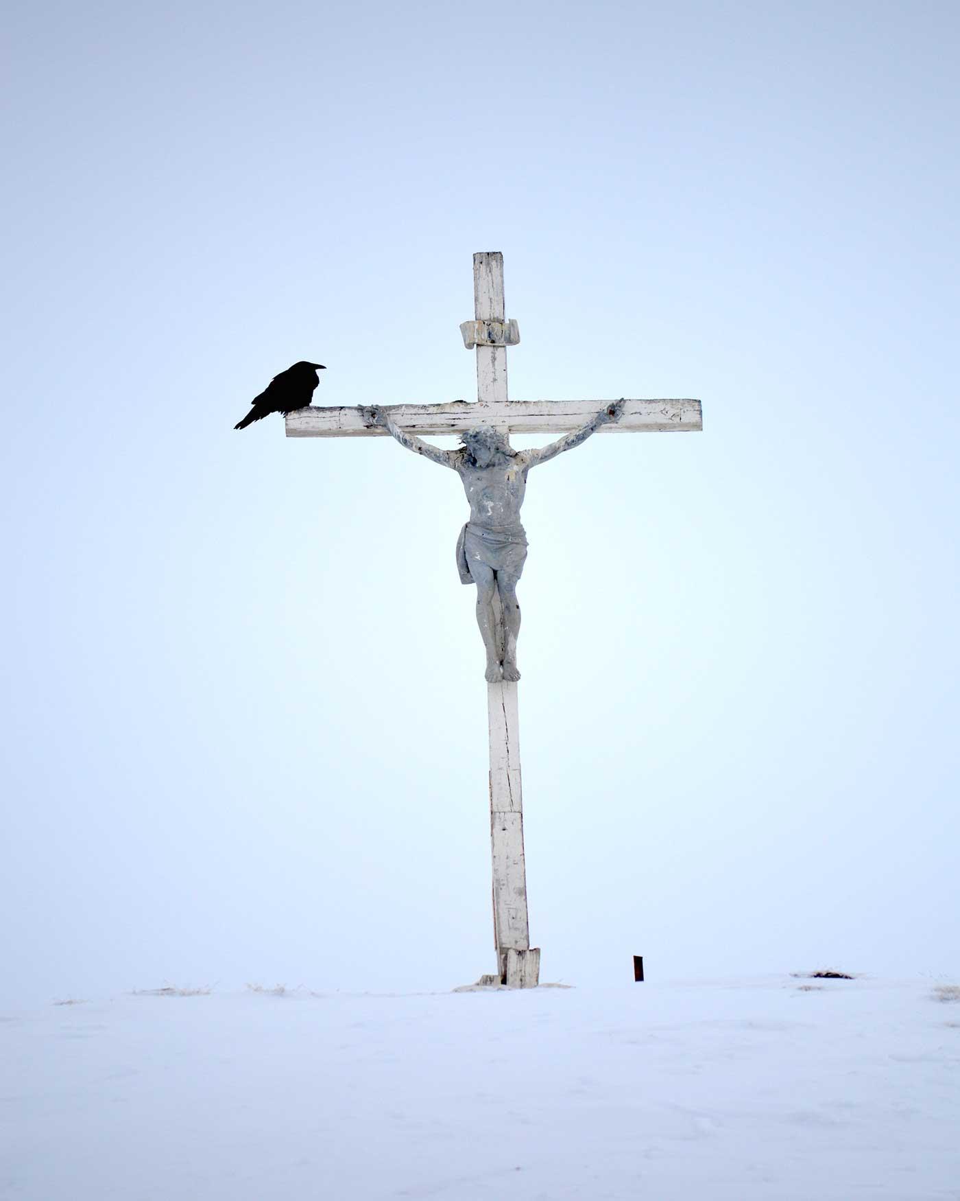 Tulugak on the Crucifix
