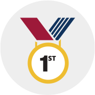 [1st place medal]