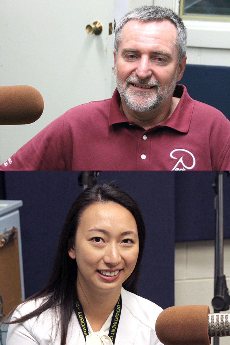 [Gabor Fichtinger and Caitlin Yeo]