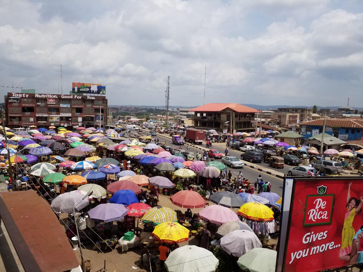 Under the Umbrella by Grace Adeniyi-Ogunyankin