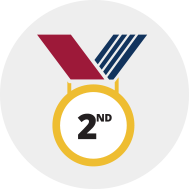 [2nd place medal]