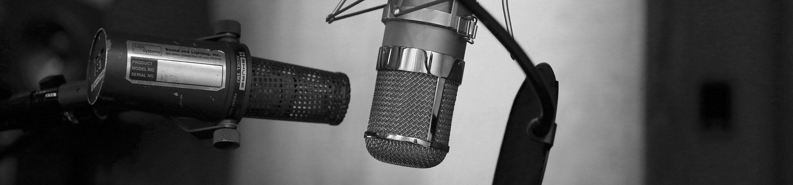 [photo of microphones]