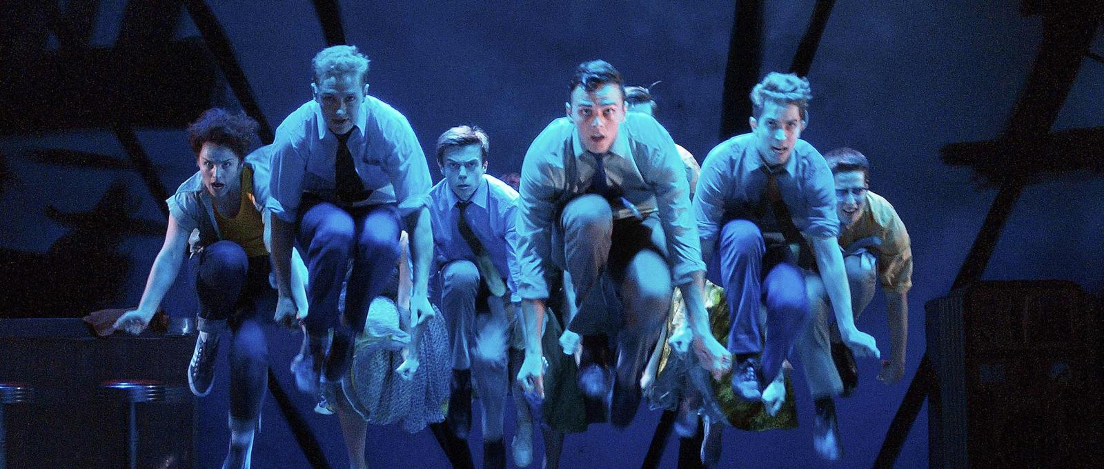 Keep Cool Boy - The Jets Aloft in West Side Story