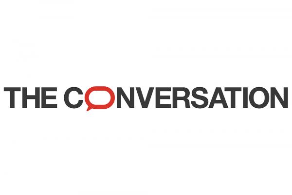 [The Conversation Logo]