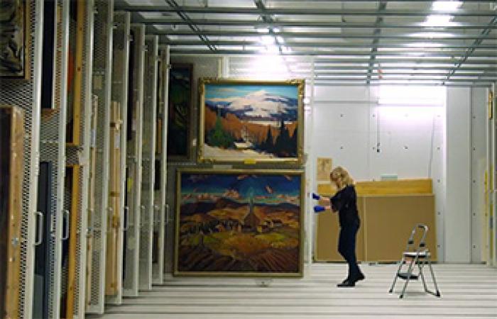 [At the Agnes Etherington Art Centre]