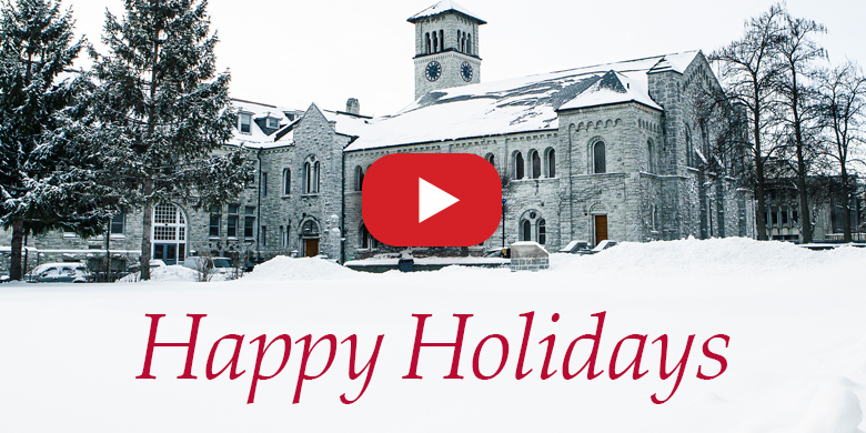 [Happy Holidays from Queen's University]