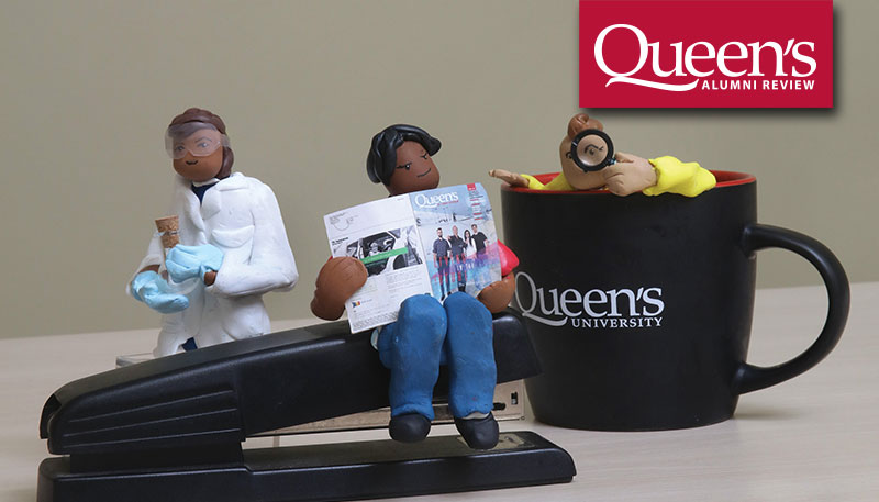[miniaturized Queen's researchers]