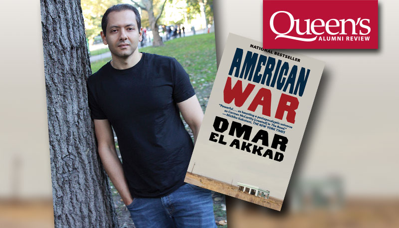 [Omar El Akkad with bookcover]