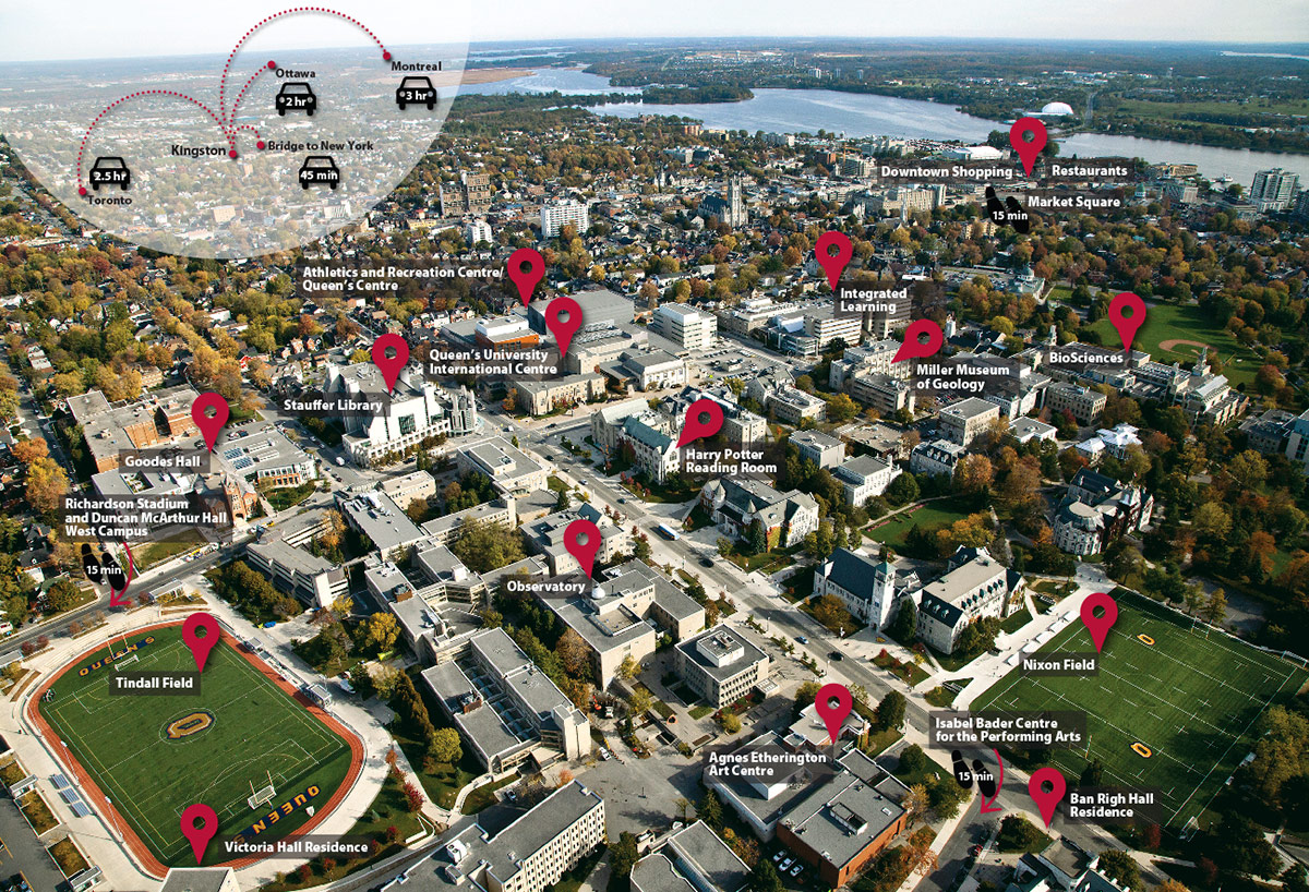 [campus map aerial view]