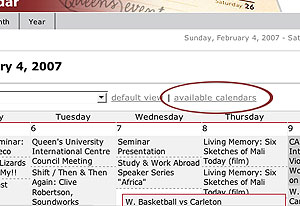 [image showing available calendars link on calendar interface]