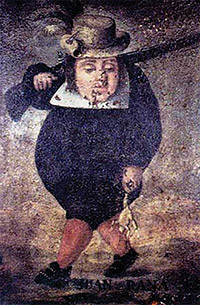[painting of Juan Rana]