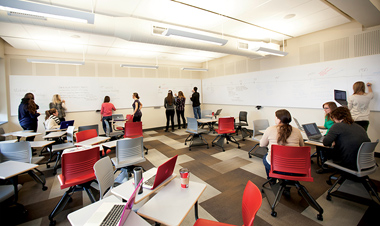 [Ellis Hall Active Learning Classroom]