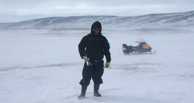[Anthony Bassutti in the Arctic]