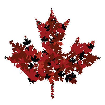 [graphic of Canadian maple leaf]