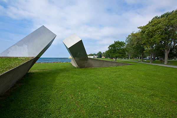 [Time Sculpture at Breakwater Park, Kingston, Ontario]