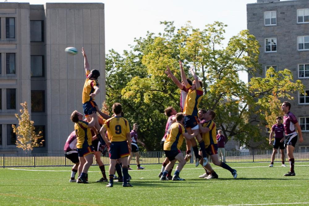 [Queen's men's rugby team]