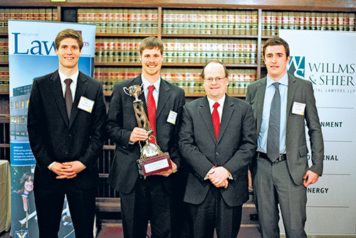 [Queen's Law wins Canada's inaugural environmental law moot]