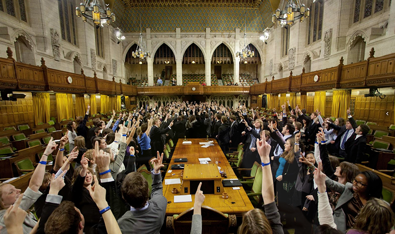 [Queen's Model Parliament]
