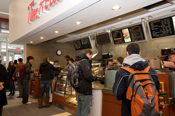 [Tim Hortons in the Queen's Centre]