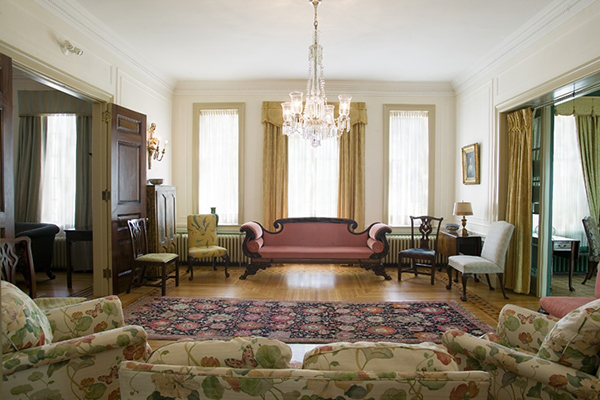 [Drawing room in Etherington House]