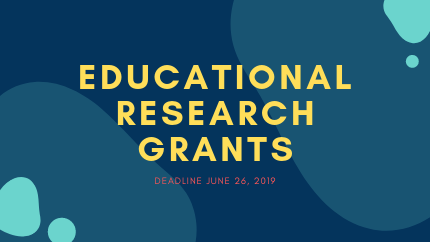 Educational Research Grants 2019