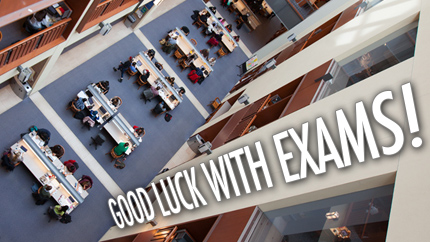 [Good luck with exams!]