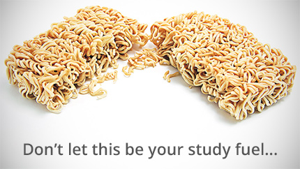 [don't let this be your study fuel]