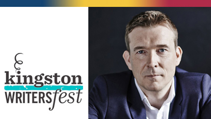 [Kingston Writersfest graphic with David Mitchell]