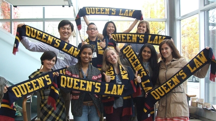 [Queen's Law students]